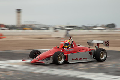 Bart Perlman in his 1984 Ralt RT 5 during Friday practice.