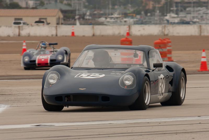 Michael Reischl exits turn nine in his 1967 Chevron B8.