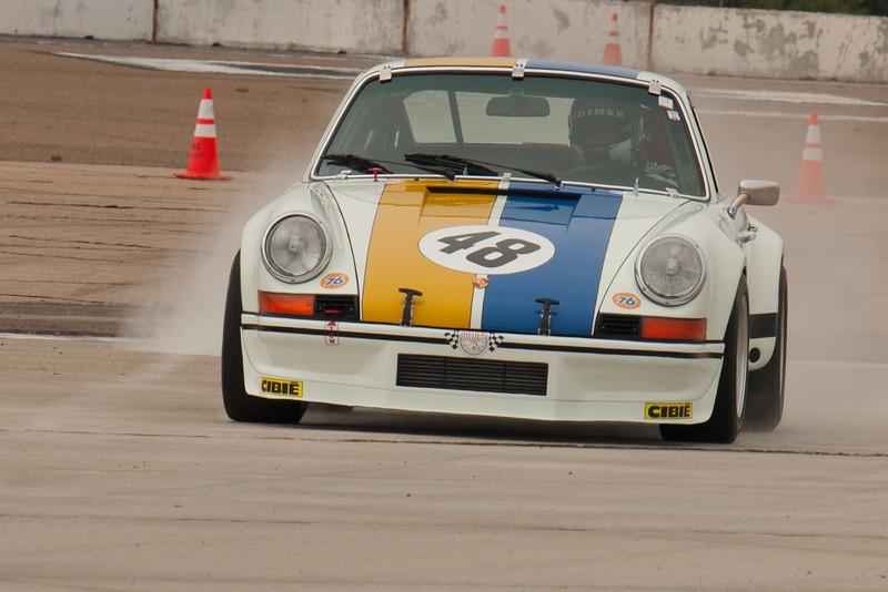 Erich Joiner's 1972 Porsche RSR.