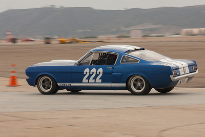 Craig Wright on the apex of turn eleven in his 1966 Shelby GT350.