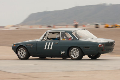 Pete Whitehead and his 1964 ISO Rivolta during Friday practice.
