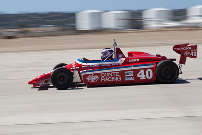 Mike Follmer races out of turn 9 in his 1982 Ralt RT5. © 2014 Victor Varela