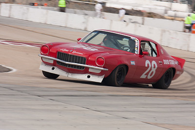 The tail hangs out on the 1970 Chevrolet Camaro of Gregory Weirick. © 2014 Victor Varela