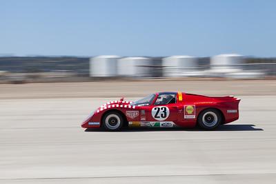 Jeff Klein races towards turn 10 in his 1970 Chevron B16. © 2014 Victor Varela