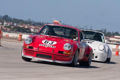 Ranson Webster in his 1973 Porsche 911 RSR. © 2014 Victor Varela