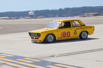 Taz Harvey in his 1969 Datsun 510. © 2014 Victor Varela