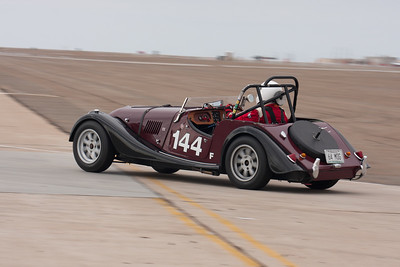 The 1964 Morgan 4/4 of Mark Pladson. © 2014 Victor Varela