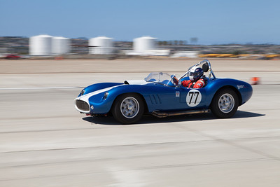 John Goodman in his 1958 Devin SS. © 2014 Victor Varela