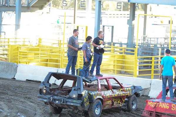 Benton Franklin Fair Demolition Derby 08-19-2013