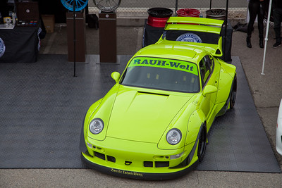 RAUH-Welt Porsche on display