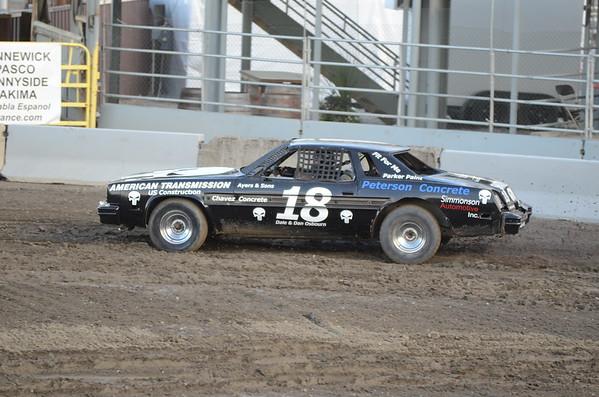 Demolition Derby - Benton Franklin Fair 2011