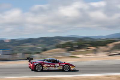 Jon Becker in the #28 Ferrari 458 EVO. © 2014 Victor Varela