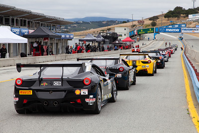 All lined up and ready to go! © 2014 Victor Varela