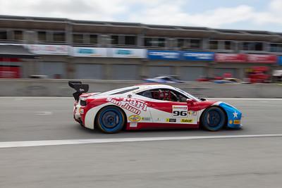 Victor Gomez in the #96 Ferrari 458 EVO. © 2014 Victor Varela
