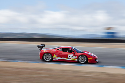 Al Hegyi in the #78 Ferrari 458 EVO. © 2014 Victor Varela