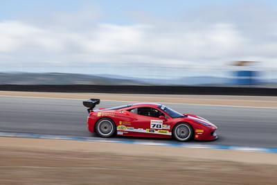 Al Hegyi in the #78 Ferrari 458 EVO. © 2014 Victor Varela