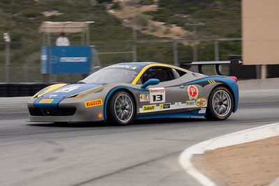 Marc Muzzo in the #13 Ferrari 458 EVO. © 2014 Victor Varela