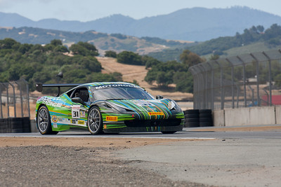 Damon Ockey in the #31 Ferrari 458 EVO. © 2014 Victor Varela