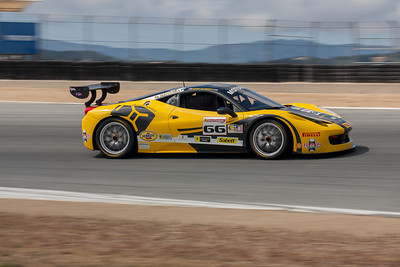 Ross Garber in the #66 Ferrari 458 EVO. © 2014 Victor Varela