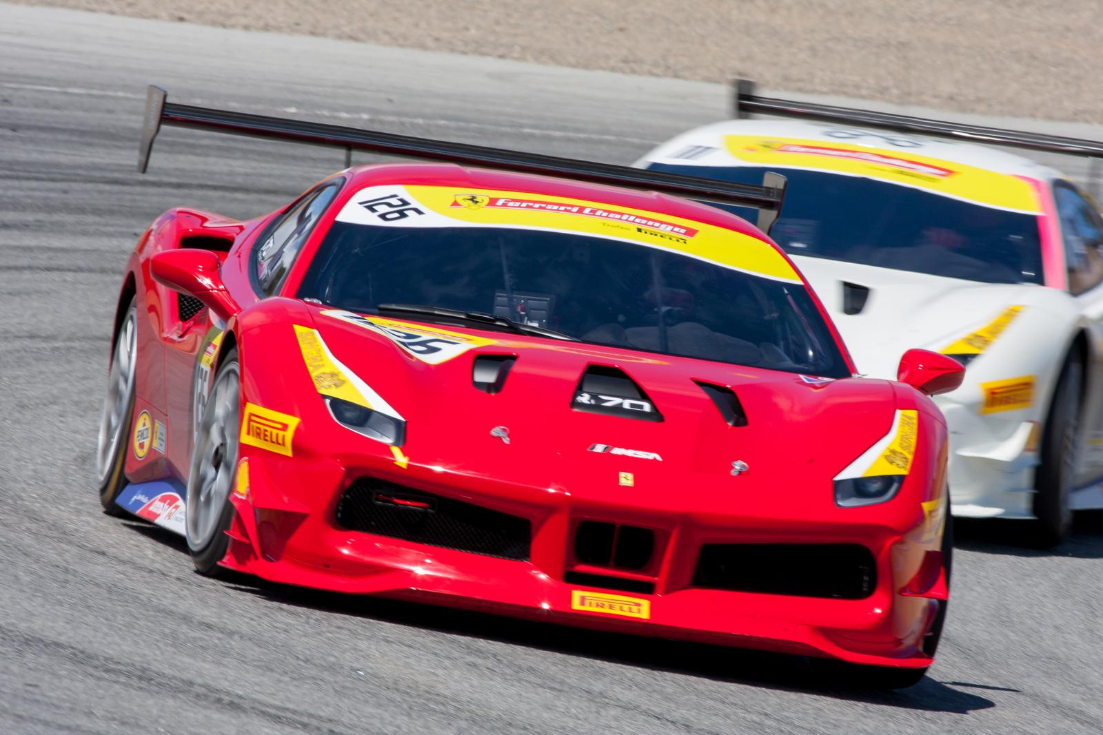 Robert Picerne, Ferrari 488 Challenge, Ferrari of Central Florida
