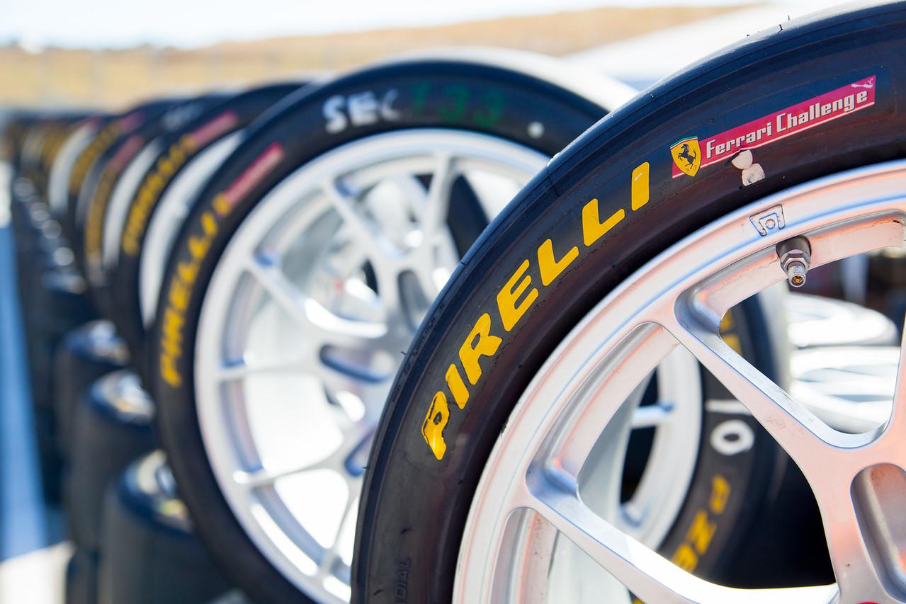 Pirelli PZeros for the Ferrari Challenge