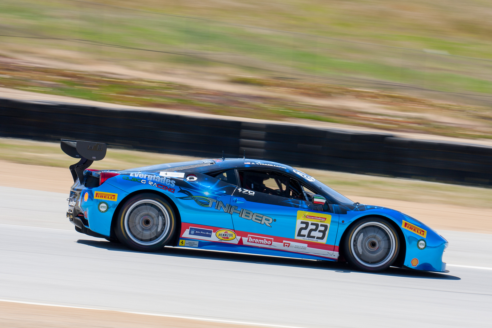 Joseph Vitagliano, Ferrari 458 Challenge EVO, Ferrari of Long Island