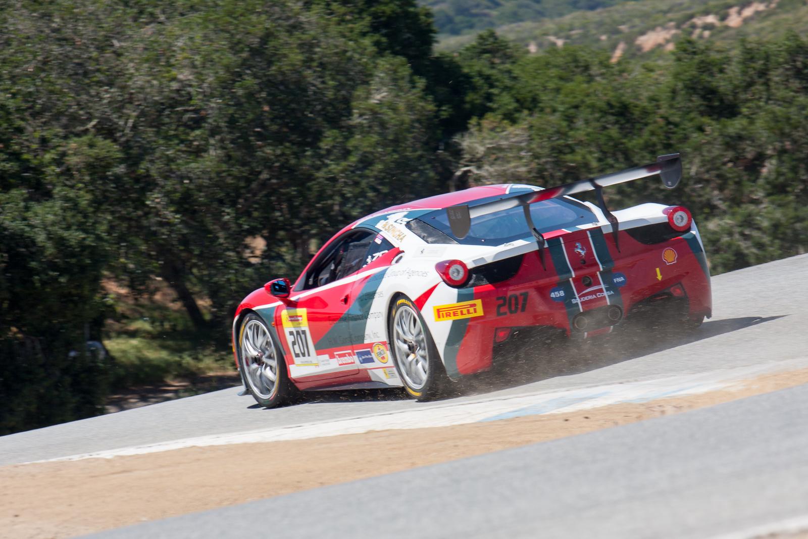 Mike Heagerty, Ferrari 458 Challenge EVO, Scuderia Corsa - Ferrari Beverly Hills