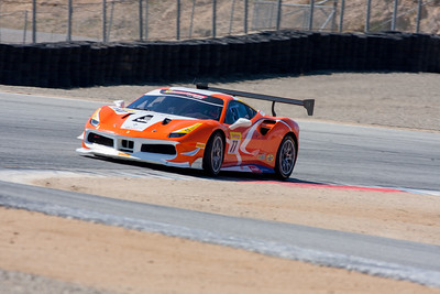Joe Courtney, Ferrari 488 Challenge, Miller Motor Cars