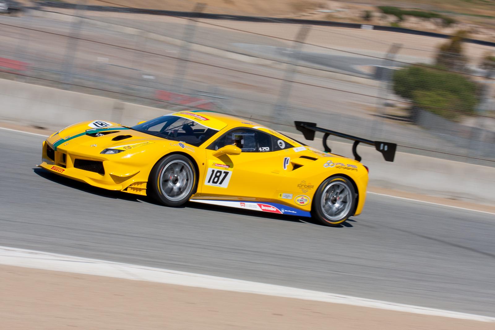 Rich Baek, Ferrari 488 Challenge, Ron Tonkin Gran Turismo