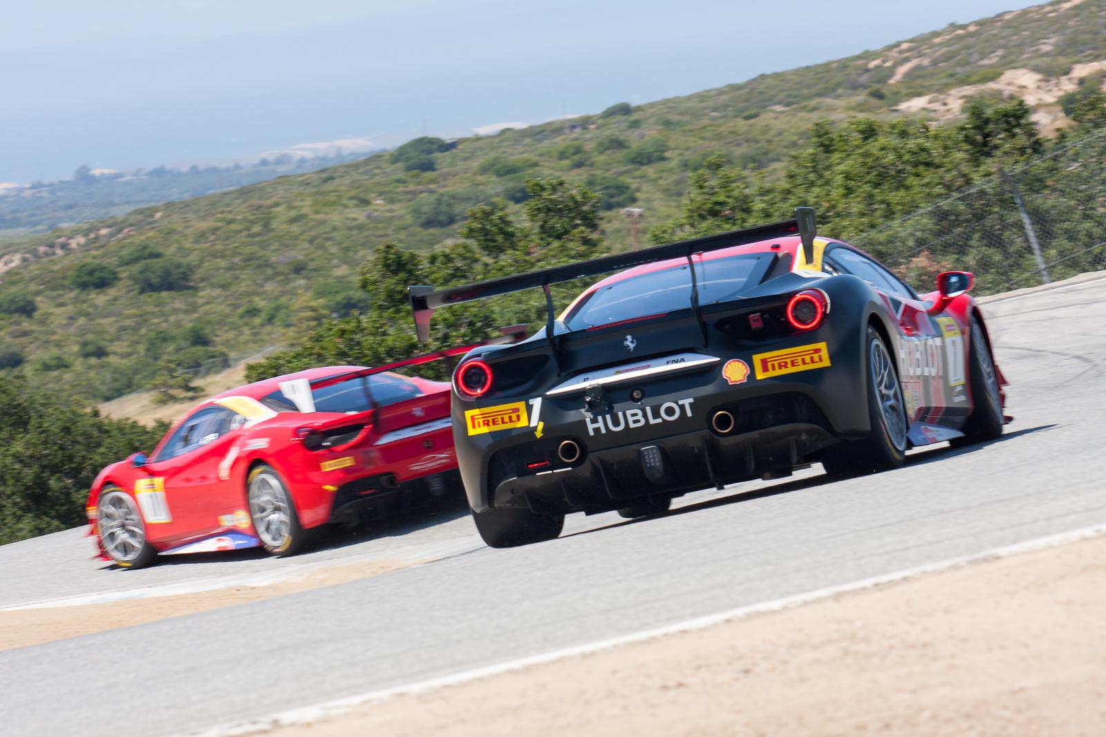 Martin Fuentes, Ferrari 488 Challenge, Scuderia Corsa - Ferrari of Silicon Valley