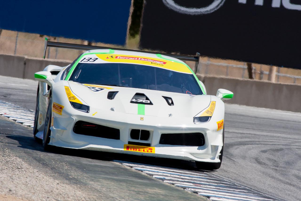 Michael Fassbender, Ferrari 488 Challenge, Ferrari North America