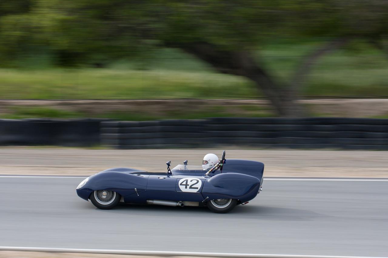 Arthur Cook - 1958 Lotus 11