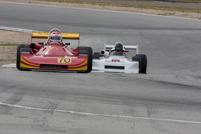 Bob Baker - Ralt RT1 leads Allen Nicholas - 1978 March 78B into turn 11