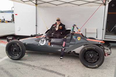Rocky Taylor and his 1966 Auto Dynamics Mk IV FV