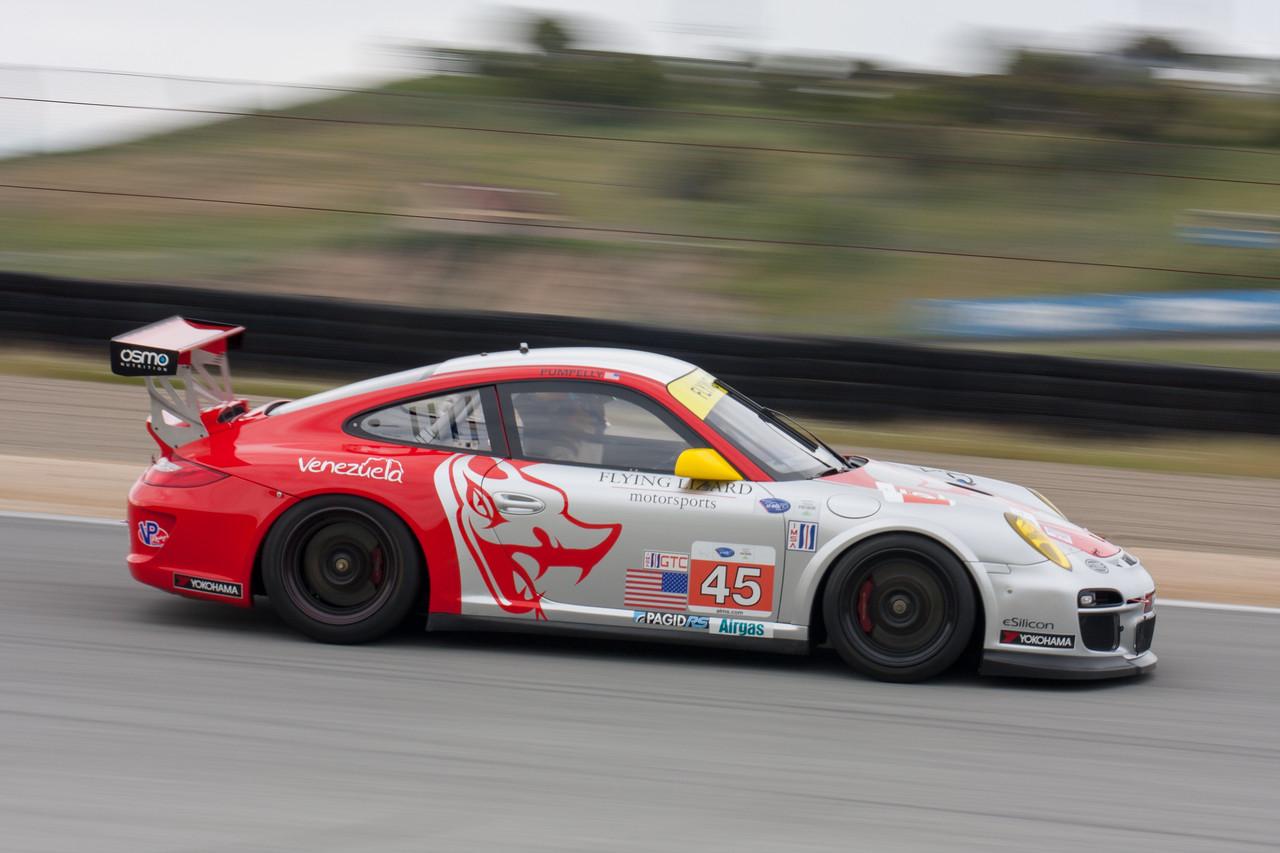 Tom Minnich - #45 Flying Lizard Motorsports Porsche 911 GT3 Cup