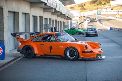 Porsche in the Pits