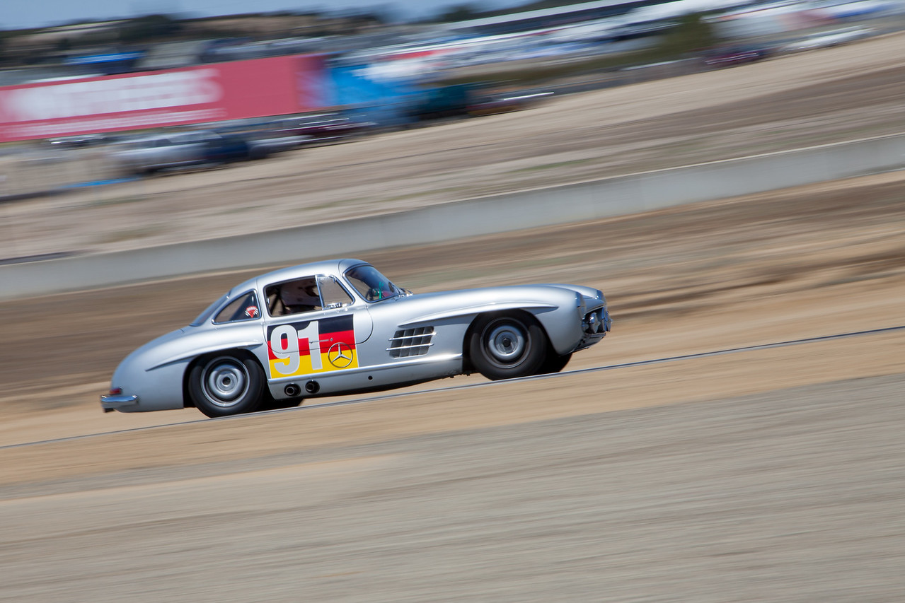 Alex Curtis - Mercedes-Benz 300SL Gullwing
