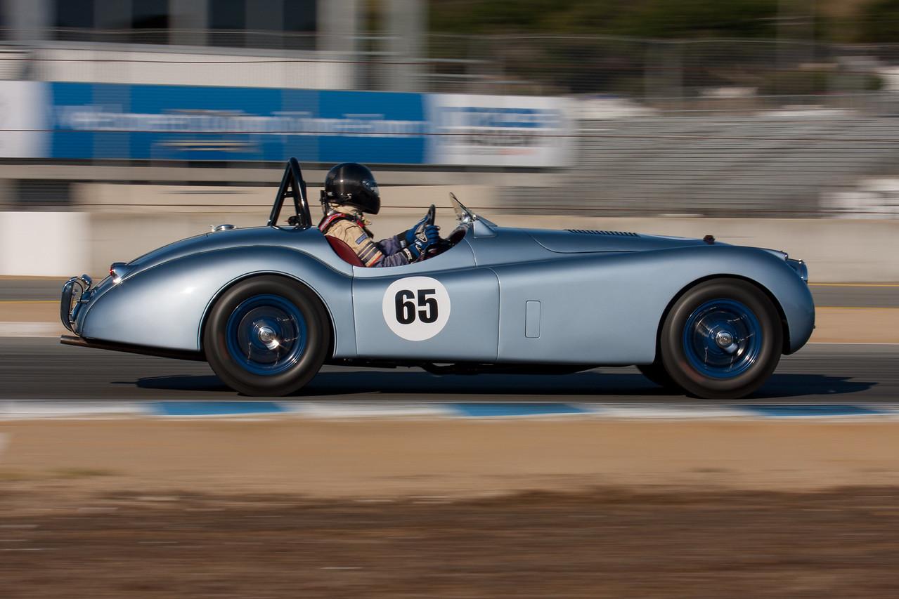 Brian Andrews - Jaguar XK120