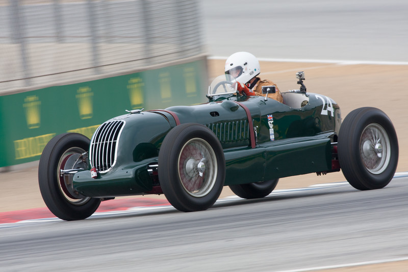 Jan Voboril - 1935 Alta Grand Prix