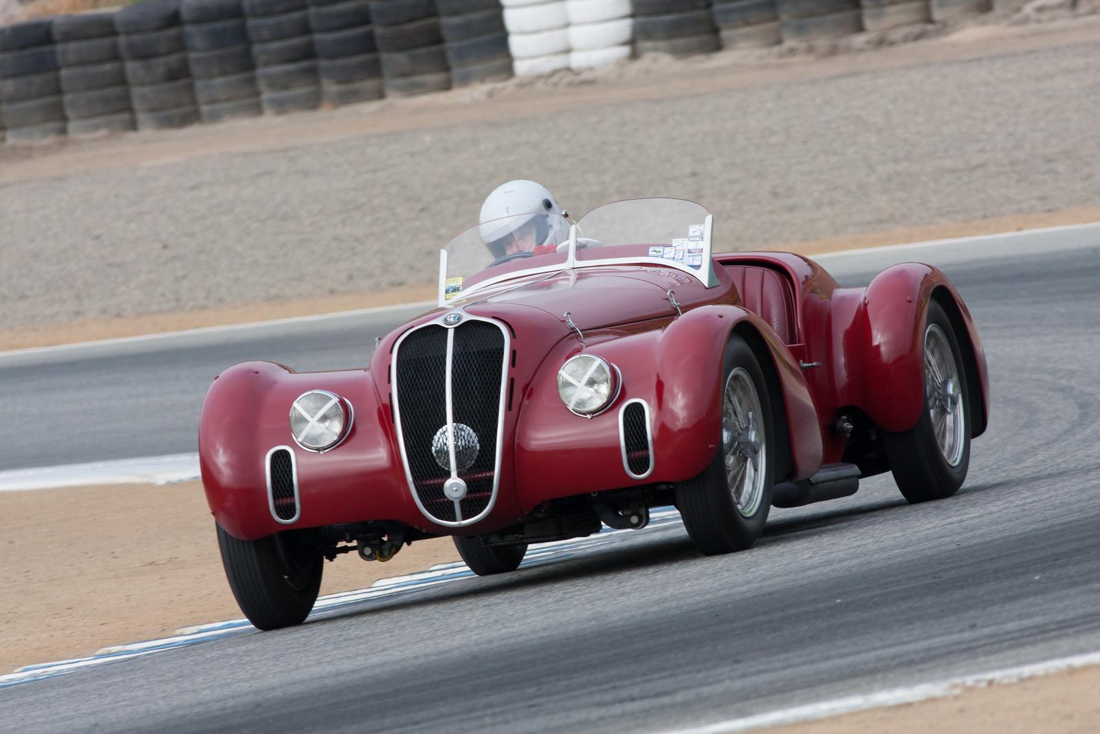 Conrad Stevenson - 1939 Alfa Romeo 6C2500 Super Sport