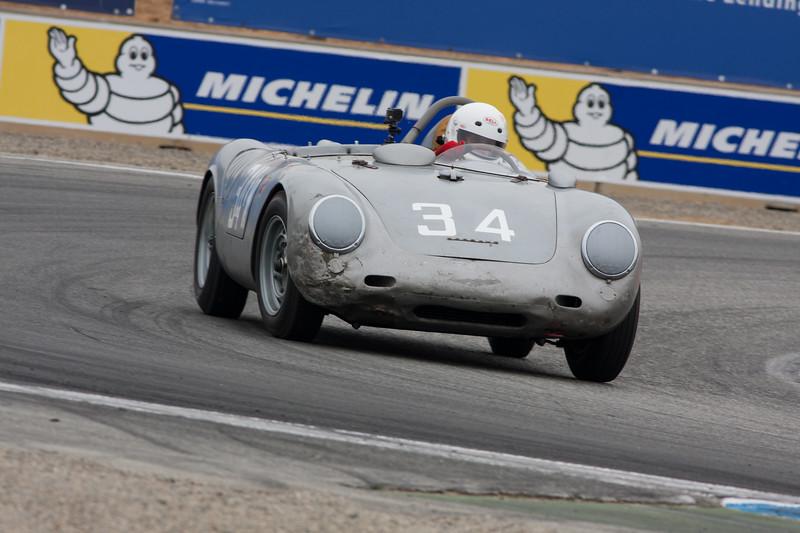 Tom Trabue - 1958 Porsche 550 A