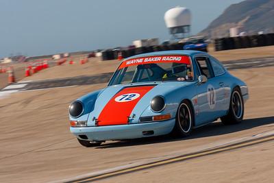 1967 Porsche 911S driven by Wayne Baker