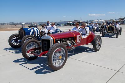 (L-R) The 1911 National, 1916 Sturtivant-Auburn, 1916 National & 1912 Packard