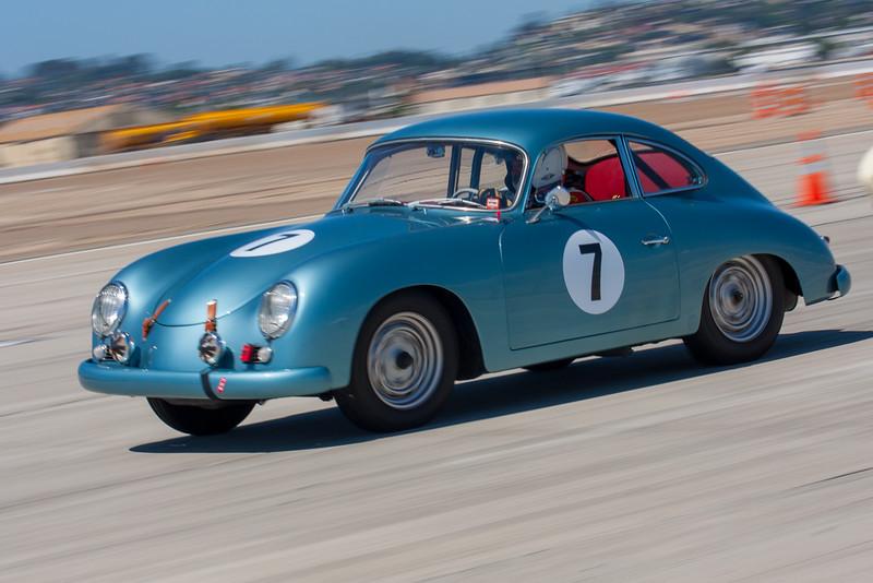 1955 Porsche 356 A 1600 driven by William Noon