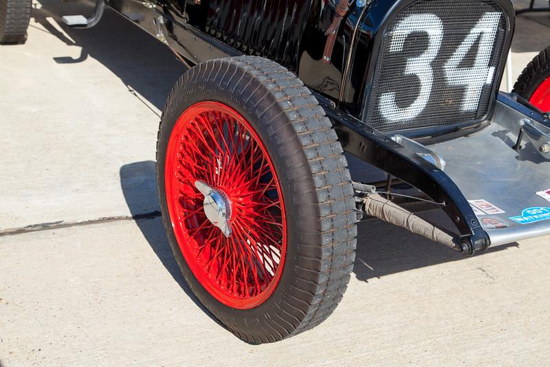 Red Wire Wheel