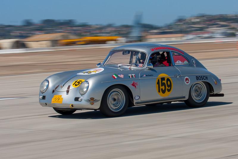 1959 Porsche 356 driven by Don Tevini