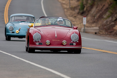Peter Dunkel in his Porsche Speedster