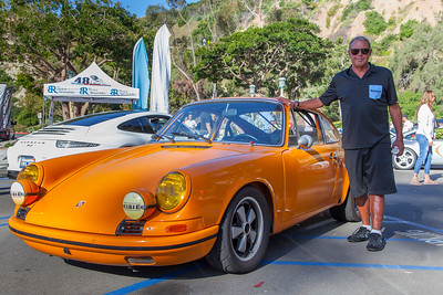 Chad McQueen and his Porsche 911