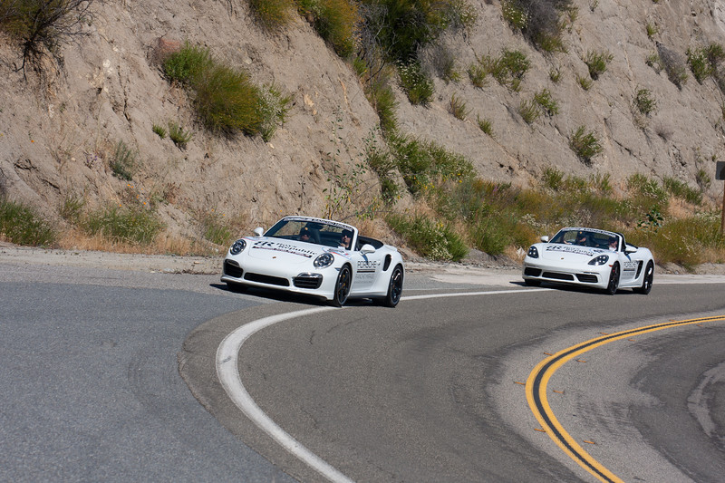 Porsche 911 Turbo S Convertible and Porsche 718 Boxster Convertible
