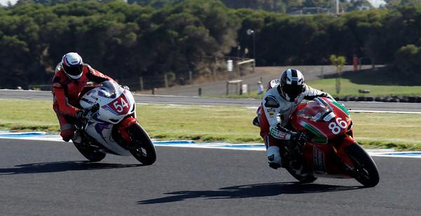 World Superbikes - Australian round at Phillip Island 2010